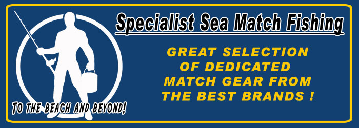 Sea Match Fishing Dedicated fishing tackle and equipment