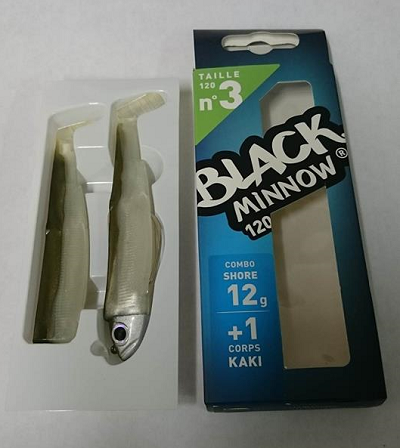 Black Minnow Shore 12g