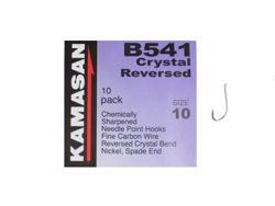 Kamasan B541 Crystal Reversed Hooks